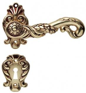 Casa Padrino Barock Türklinken Set Französisches Gold 14 x H. 8, 2 cm - Deko Accessoires im Barockstil