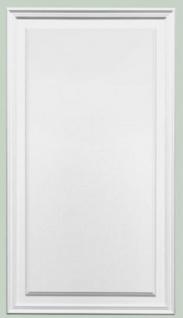Casa Padrino Wandpaneel Weiß 55 x 1, 7 x H. 90, 5 cm - Rechteckiges Paneel - Deko Accessoires