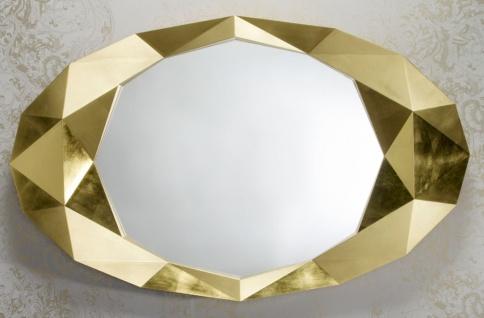 Casa Padrino Designer Hotel Spiegel Gold 93 x H. 152 cm - Hotel Möbel