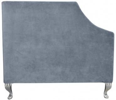 Casa Padrino Luxus Chesterfield Samt Sofa mit Kissen 225 x 84 x H. 76, 5 cm - Verschiedene Farben - Chesterfield Wohnzimmer Möbel - Vorschau 3