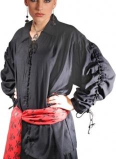 Patrickson Piraten Shirt - Black - Vorschau
