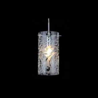 Casa Padrino Jugendstil Decken Hängelampe Nickel 12 x H 100 cm Antik Stil - Möbel Lüster Leuchter Deckenleuchte Hängelampe