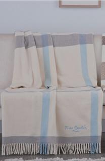 Pierre Cardin Designer Luxus Decke Samtweich 140 x 180 cm Schlafzimmer Wohnzimmer Tagesdecke Kuscheldecke Celeste PA902