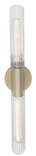 Casa Padrino Luxus Wandleuchte Antik Messingfarben 12, 1 x 8, 9 x H. 62, 9 cm - Wohnzimmer Wandlampe