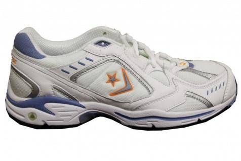 Converse Skateboard Schuhe Cushioned Trainer White/Skate Blue/Tangerine/Silver