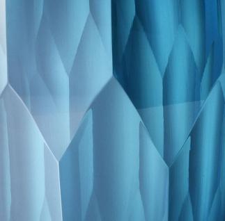 Casa Padrino Luxus Deko Glas Vase Blau Ø 12 x H. 14 cm - Luxus Qualität - Vorschau 4