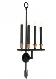 Casa Padrino Luxus Wandleuchte - Luxus Leuchte - Vorschau 2