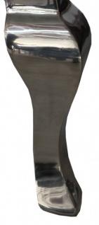 Casa Padrino Barock Esszimmer Stuhl Türkis / Silber - Designer Stuhl - Luxus Qualität Hochlehnstuhl Hochlehner - Vorschau 4