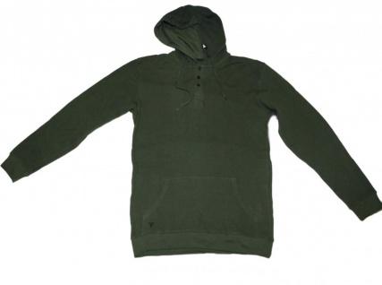 Fallen Skateboard Pullover Zip Hood Mesh Green Sweater