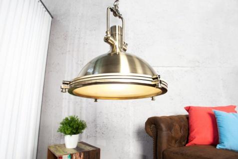 Casa Padrino Industrial Hängeleuchte Bronze Mod2 45 cm - Industrie Design Vintage Lampe Leuchte