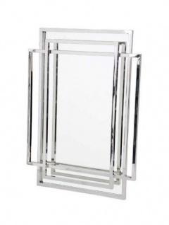 Casa Padrino Luxus Designer Wandspiegel 85 x H 115 cm - Limited Edition