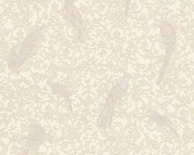 Versace Designer Barock Vliestapete IV 37053-5 - Creme / Beige - Design Tapete - Hochwertige Qualität