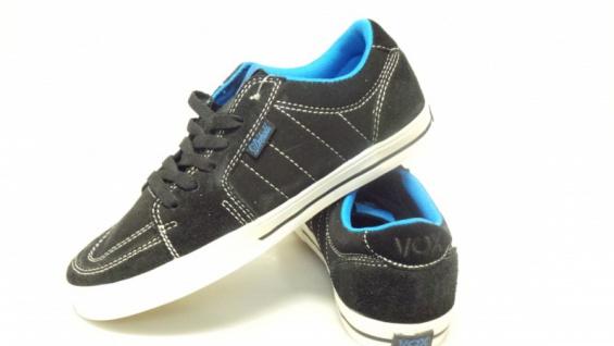 Vox Skateboard Schuhe Drehobl Schwarz/Blau