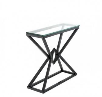 Casa Padrino Luxus Konsole Bronze 90 x 30 x H. 82 cm - Konsolen Tisch Möbel - Vorschau 2