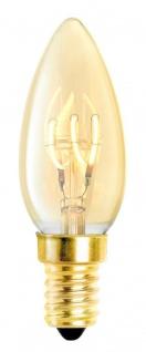 Casa Padrino Luxus Glühbirnen 4er Set Gold Ø 3, 5 x H. 10 cm - Luxus Qualität
