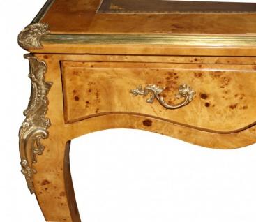 Casa Padrino Luxus Barock Schreibtisch Vogelaugen Ahorn Sekretär - Antik Stil - Vorschau 4
