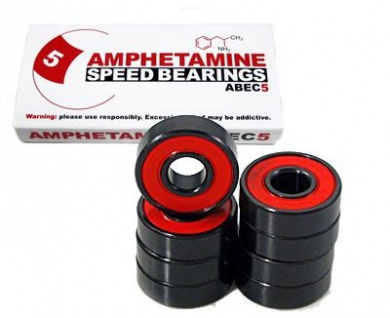 Amphetamine ABEC-5 Skateboard Kugellager BEarings Bearing Set