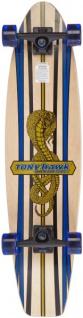 Tony Hawk Longboard Cruiser Kicktail Komplettboard Huck Jam Series 36 inch Snake