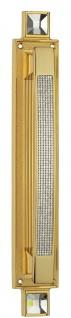 Casa Padrino Luxus Türgriff Set mit Swarovski Kristallglas Gold 6 x H. 38 cm - Hotel Accessoires
