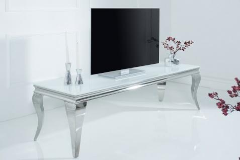 Barock Tisch 160cm weiss silber - Fernsehtisch - Vorschau 2