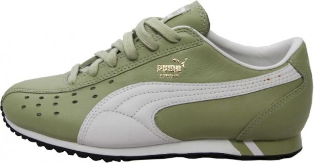 Puma Schuhe Sprint Sage Green / White / Black - Sneaker Sneaker Schuhe - Laufschuhe