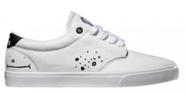 Globe Skateboard Schuhe Schuhe Skateboard Lighthouse White Clepto 3dfae7