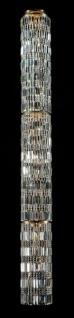 Casa Padrino Barock Kristall Decken Kronleuchter Gold 27 x H 250 cm Antik Stil - Möbel Lüster Leuchter Hängeleuchte Hängelampe