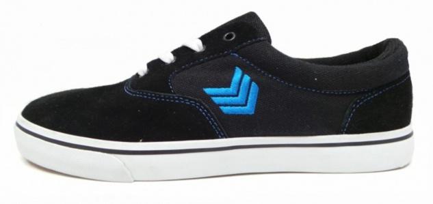 Vox Skateboard Schuhe Kruzer Black/Blue/White