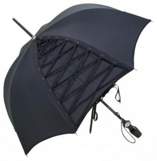 Jean Paul Gaultier Designer Luxus Regenschirm mit raffinierter Corsagenschnürung - Made in Paris