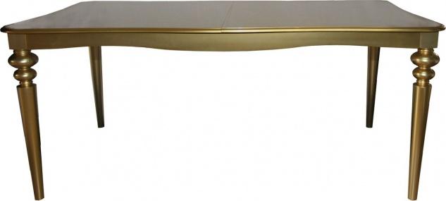 Casa Padrino Barock Luxus Esstisch Gold ausziehbar 180 - 230 cm - Limited Edition