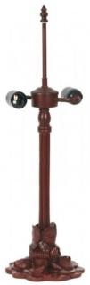 Casa Padrino Tiffany Tischleuchte Bronzefarben / Mehrfarbig Ø 40 x H. 61 cm - Tiffany Hockerleuchte aus 528 Teilen - Vorschau 2