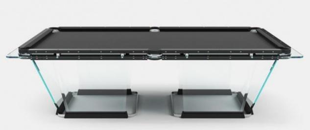 Casa Padrino Luxus Designer Pool Billardtisch 9ft Schwarz 290 x 163 x H. 82 cm - Hotel Kollektion - Luxus Qualität