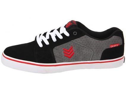 Vox Skateboard Schuhe Duffy Schwarz/Sturm/Rot