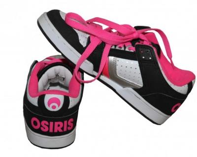 Osiris Skateboard Schuhe Harlem Girls Black/ White/ Pink/ Silver sneakers Shoes - Vorschau 2