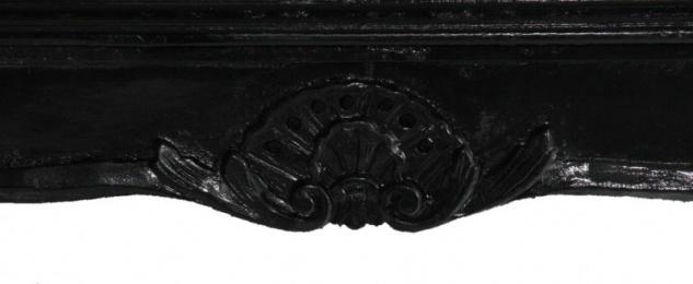 Casa Padrino Barock Couchtisch Schwarz 120 x 80 cm - Vorschau 2