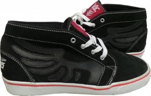 Vox -- skateboard Schuhe-- Fiberops Corona -- Vox Schwarz/Rot e16b16