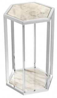 Casa Padrino Luxus Beistelltisch 2er Set - Designer Möbel - Vorschau 5