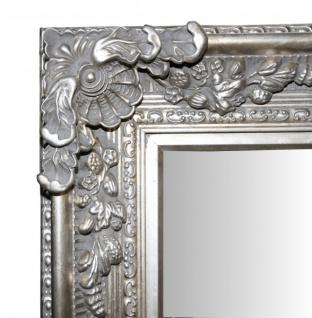 Casa Padrino Barock Wandspiegel Silber Antik-Look Höhe 153 cm, Breite 94 cm - Edel & Prunkvoll - Vorschau 2