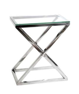 Casa Padrino Luxus Art Deco Designer Beistelltisch 62 x 42 x H. 72 cm - Luxus Hotel Tisch