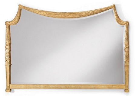 CPBlack Luxus Barock Spiegel by Casa Padrino Gold - Prunkvolle Barock Möbel