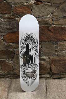 Crime Skateboard Deck Maria 7.625 inch - Lagerware mit leichten Kratzern