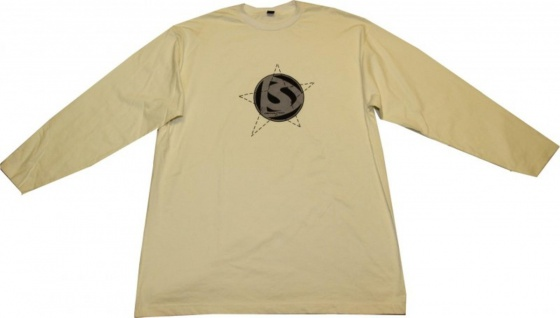 Demolition Skateboard Langarm Shirt Cream