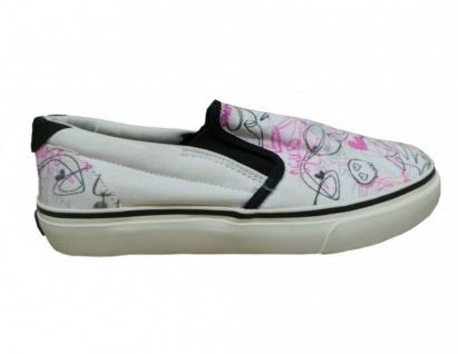 Osiris Skateboard Schuhe Slip On Scoop Girls White/ Pink /Black