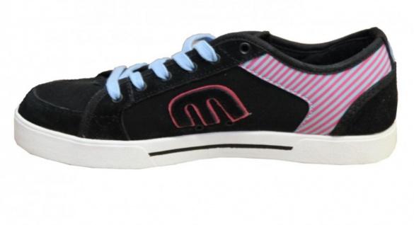 Etnies Skateboard Schuhe Rhea Black/Pink/ Cyan Sneakers Shoes - Vorschau 2