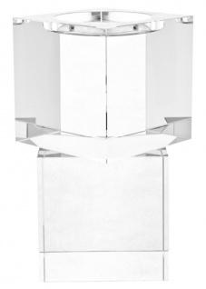 Casa Padrino Luxus Kerzenhalter / Teelichthalter 2er Set 14 x 14 x H. 20 cm - Hotel Restaurant Kollektion