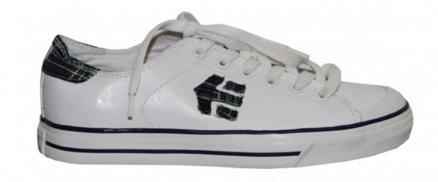 Etnies Skateboard Damen Schuhe Bernie white/green Plaid sneakers shoes