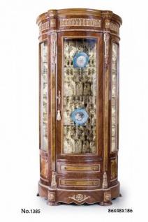 Casa Padrino Barock Vitrine 86 x 48 x H. 186 cm - Edel & Prunkvoll