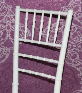 Casa Padrino Polycarbonat Designer Stuhl - Ghost Chair Weiß - Acyrl Möbel - Geisterstuhl - Ghost Stuhl *** Angebot*** - Vorschau 4