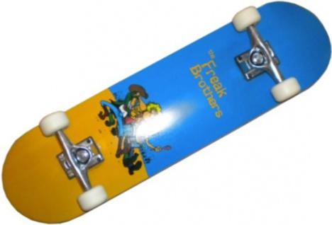 Freak Brothers Skateboard Beginner Komplettboard 8.0 inch