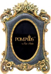 Pompöös by Casa Padrino Barock Bilderrahmen Antik Stil Schwarz / Gold von Harald Glööckler - Foto Rahmen
